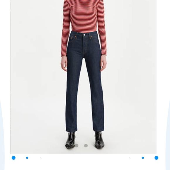 Levi's Denim - Women's 501 button fly jeans